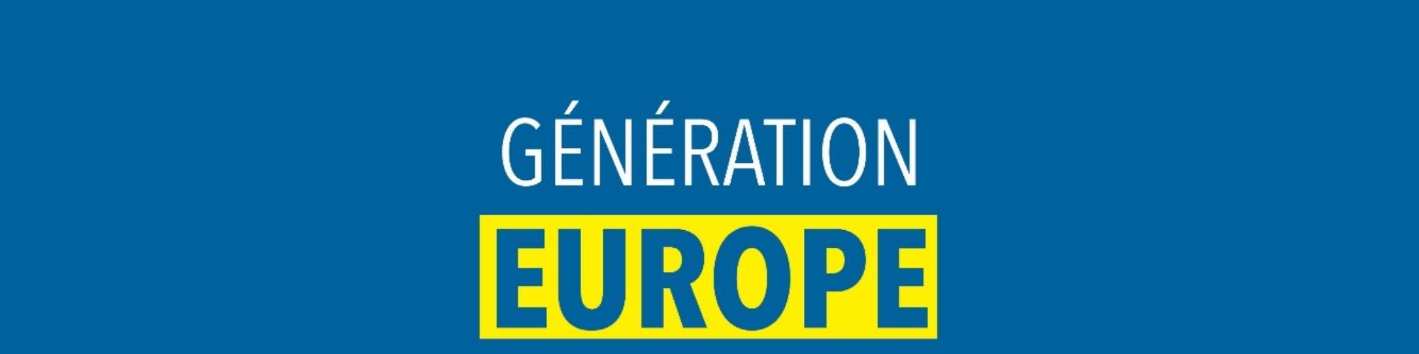 Génération EUROPE